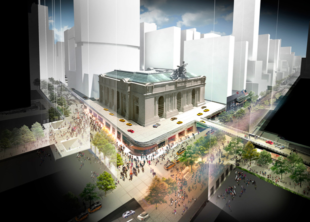 Norman Foster Re Imagines Grand Central Station