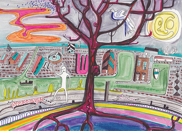 Have you seen Grayson Perry's Christmas card?