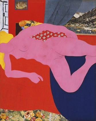 Great American Nude No 2 (1961) by Tom Wesselmann Museum of Modern Art, New York. As reproduced in Pop Art