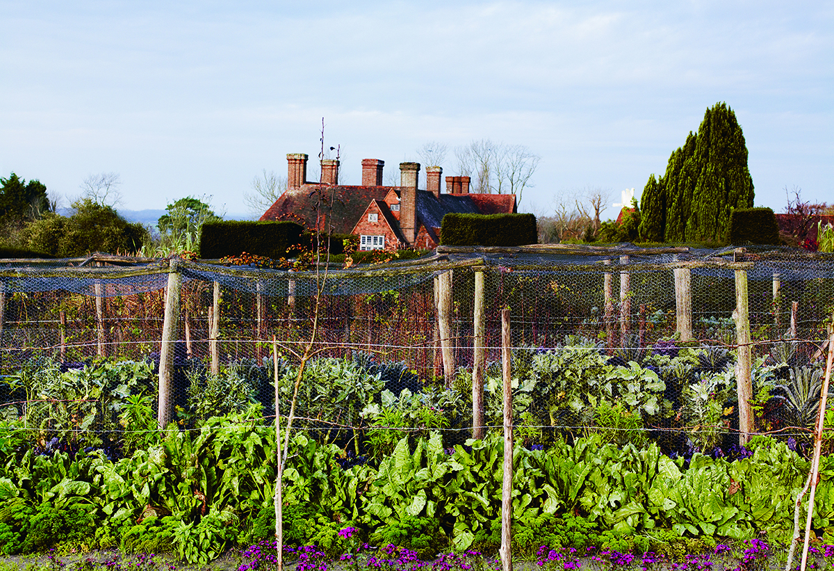 Great Dixter by Edwin Lutyens. Photograph by Andrew Montgomery from The Great Dixter Cookbook