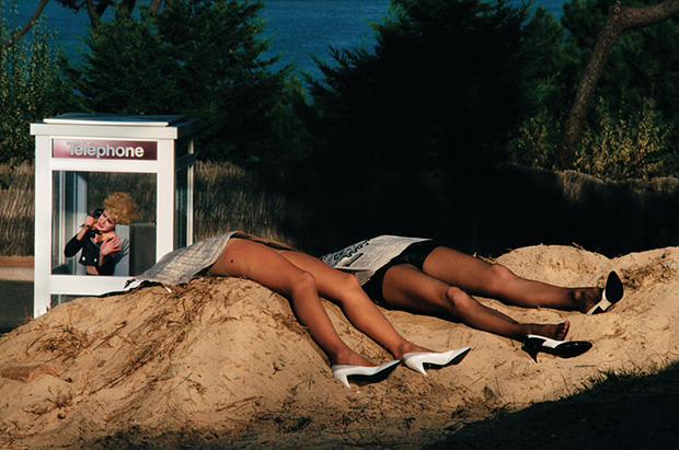 Guy Bourdin, Roland Pierre advertisement (1982-1983)