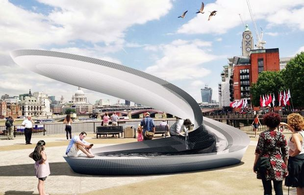 Zaha and co. rethink the drinking fountain