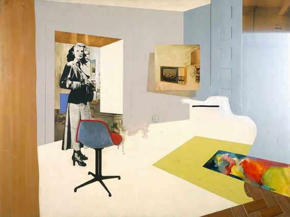 Interior II (1964) by Richard Hamilton.  © The estate of Richard Hamilton