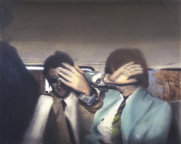 Swingeing London 67 (f) (1968–9) by Richard Hamilton. © The estate of Richard Hamilton