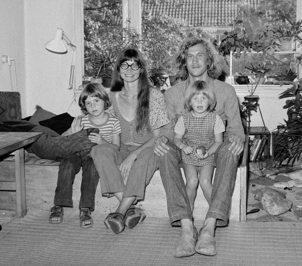 With my Family (1973) by Hans Eijkelboom