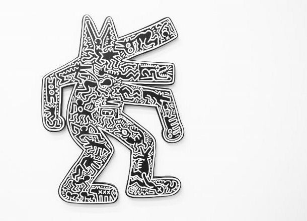 Dog (1986) by Keith Haring