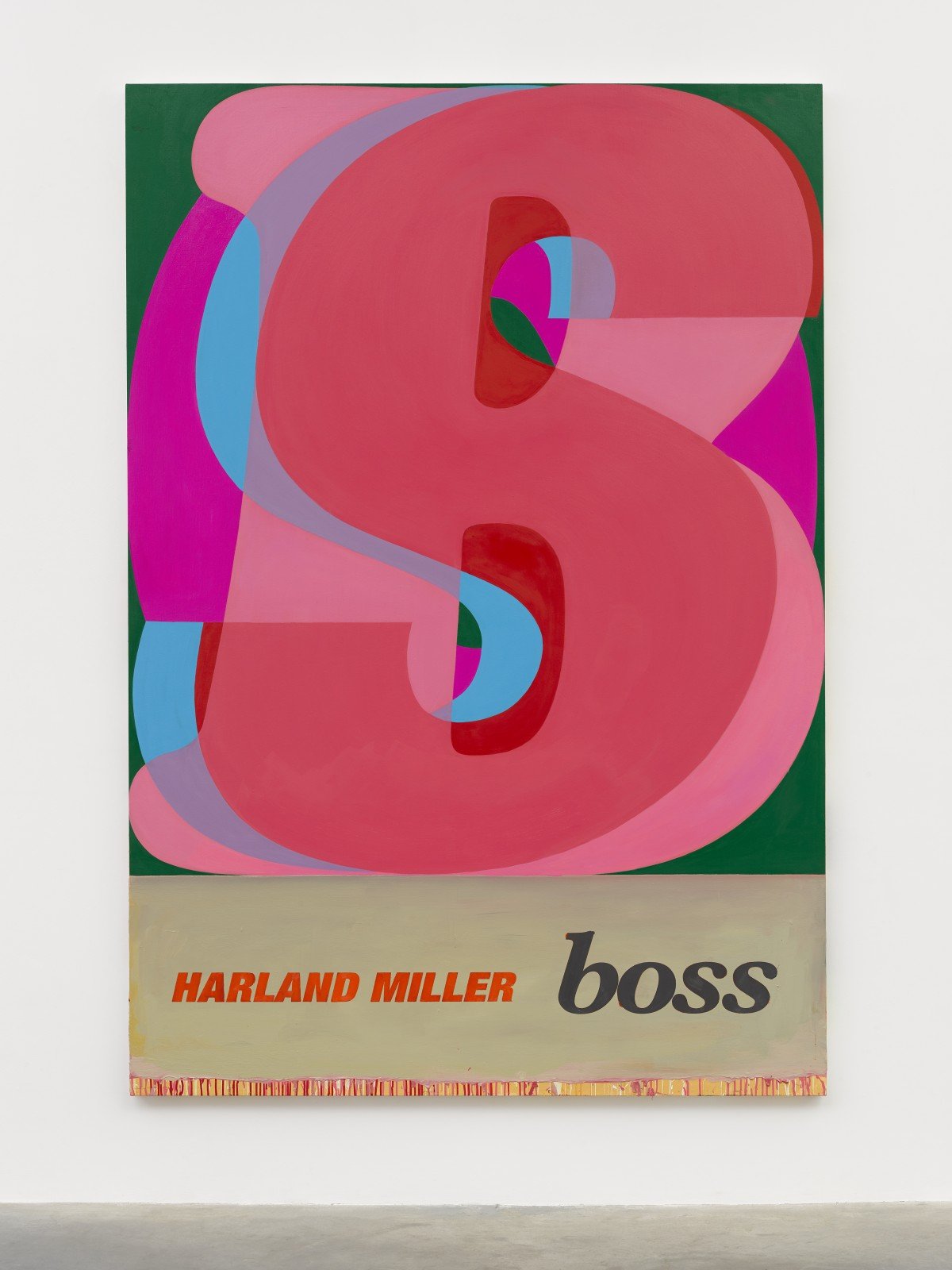 Boss, 2019 © Harland Miller. Photo © White Cube (Theo Christelis) Courtesy White Cube