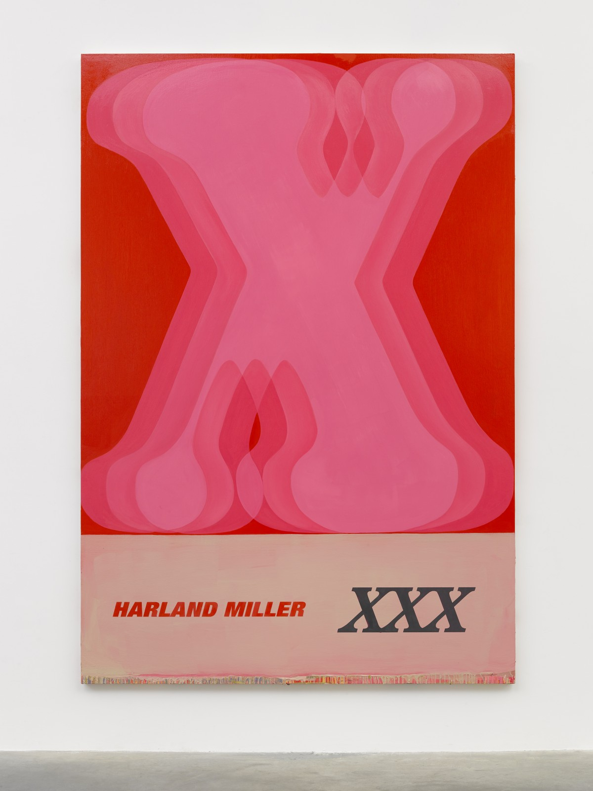 XXX, 2019 © Harland Miller. Photo © White Cube (Theo Christelis) Courtesy White Cube