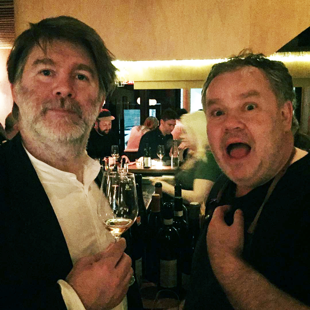 James Murphy (left) and Stephen Harris at The Four Horsemen