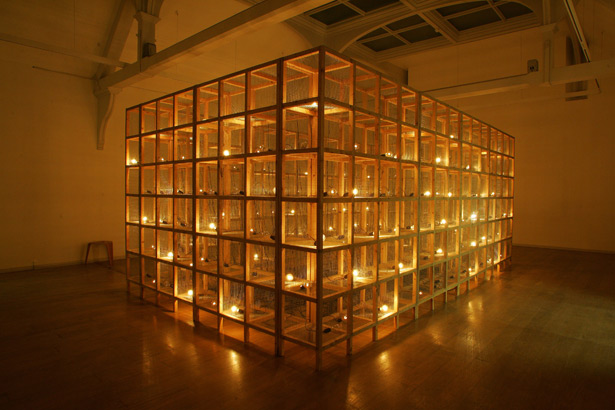 Mona Hatoum Current Disturbance 1996 Whitechapel London UK Mixed media