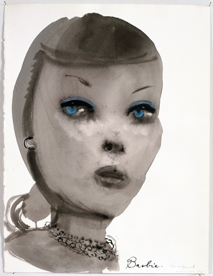 Marlene Dumas, Barbie, the Original (1997)