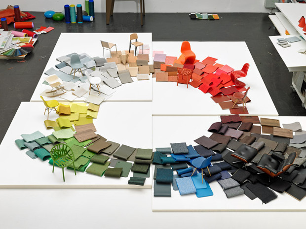 Hela Jungerius's Colour Wheel for Vitra