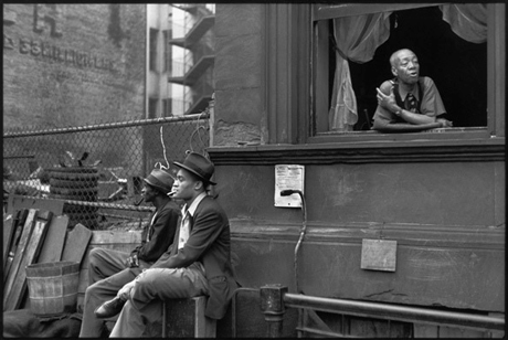 Henri Cartier-Bresson, Harlem New York 1947