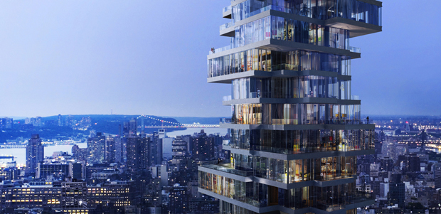 Herzog & de Meuron's 'Jenga tower' gets go ahead