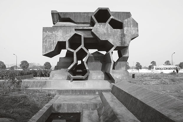 Reading Space, Jinhua Architecture Park, Jinhua, China, 2006 by Herzog & de Meuron. From This Brutal World