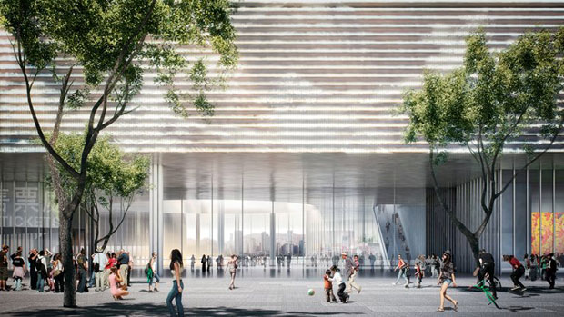 Architecture goes underground at Herzog & de Meuron's M+ museum in Hong Kong
