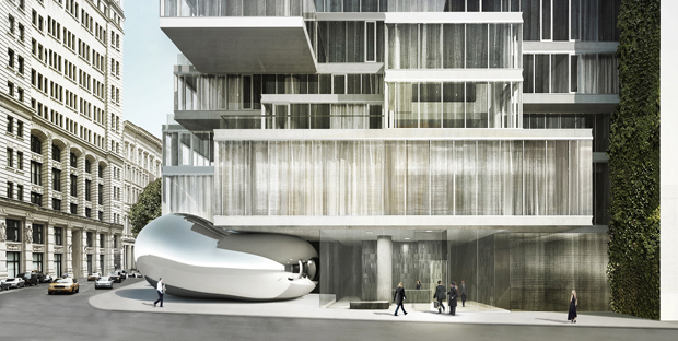 56 Leonard - Herzog & de Meuron with Anish Kapoor art work intact