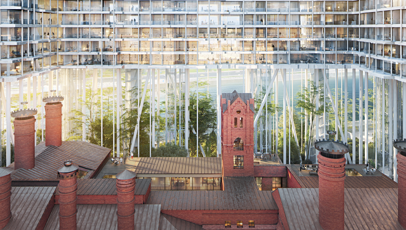 The Badaevskiy Brewery by Herzog & de Meuron. All images courtesy of the architects