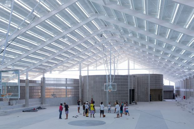 The Arena do Morro sports, cultural and social centre by Herzog & de Meuron