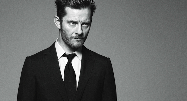 Jamie Hewlett, shot by David Sims for Alfred Dunhill autumn/winter 2012 campaign