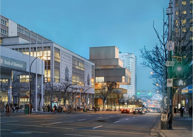 The new Vancouver Art Gallery by Herzog & de Meuron. Rendering courtesy of Vancouver Art Gallery