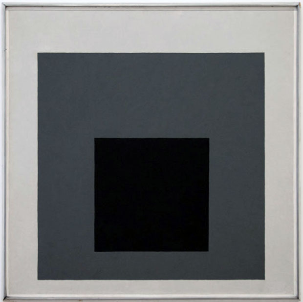 Why Josef Albers' squares began in black and white