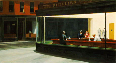 Nighthawks (1942) by Edward Hopper