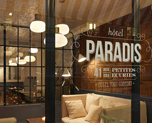 Young designer creates new boutique hotel in paris for Design hotel a paris