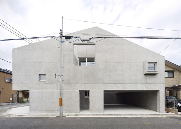 Concrete House With Access All Areas