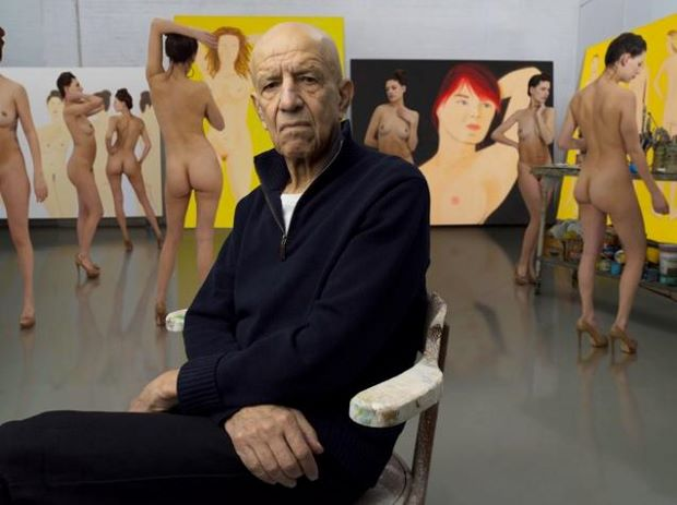 Alex Katz, 2011, by Howard Schatz