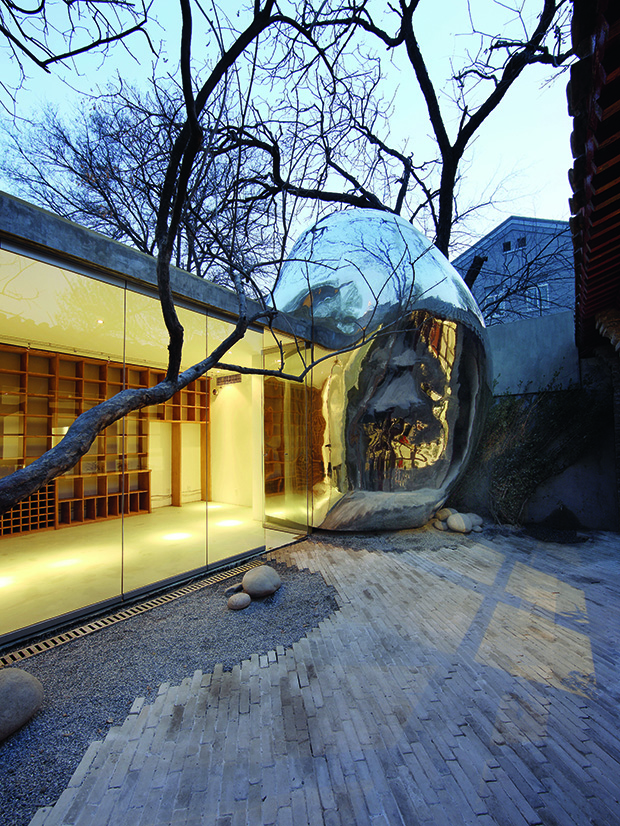 Hutong Bubble 32, 2008–2009, Beijing, China by MAD Architects. From MAD Works