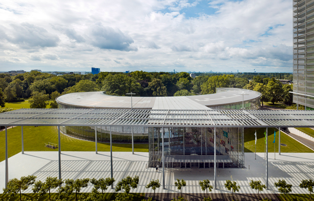 HV Bayer Headquarter by Jahn, as featured in the Phaidon Atlas