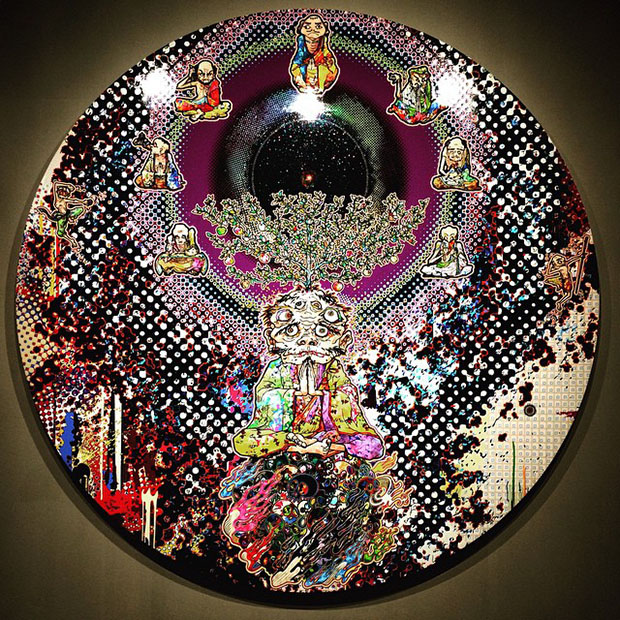 Sage (2014) by Takashi Murakami, on show at Heart in Ibiza this summer