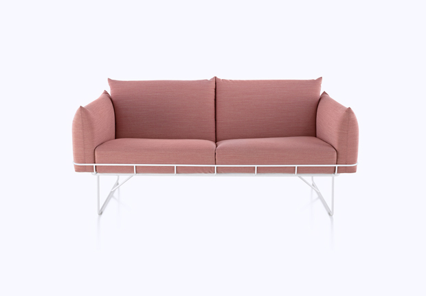 The Wireframe Sofa by Industrial Facility for Herman Miller