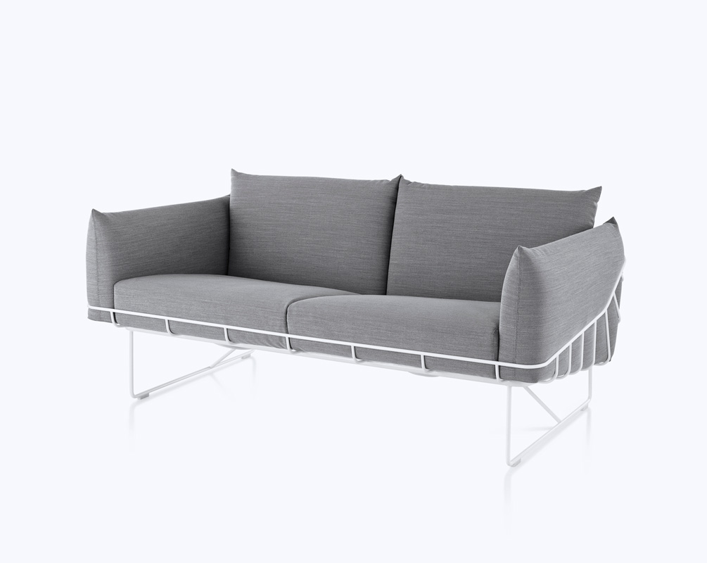The london designers 39 sofa for eames 39 old firm design for Sofa industrial