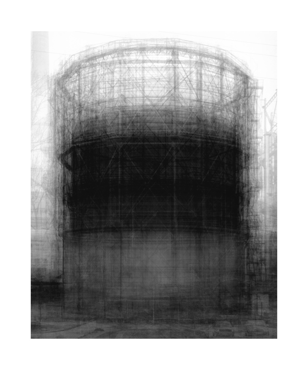 Homage to Bernd Becher 2007 - Idris Khan from Shooting Space