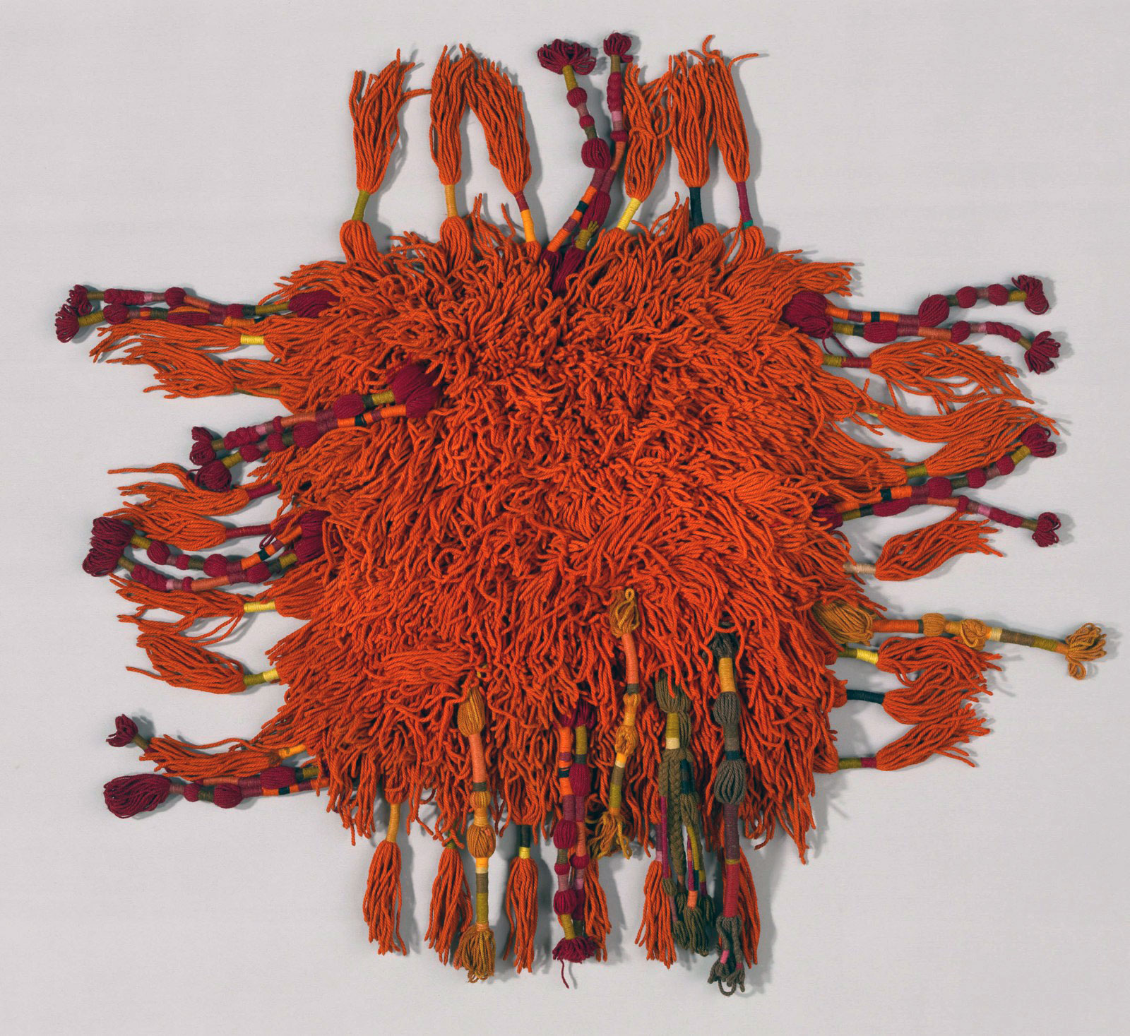 Sheila Hicks, Produced by V'SOSKE. Rug, about 1965. Gift of Sheila Hicks.