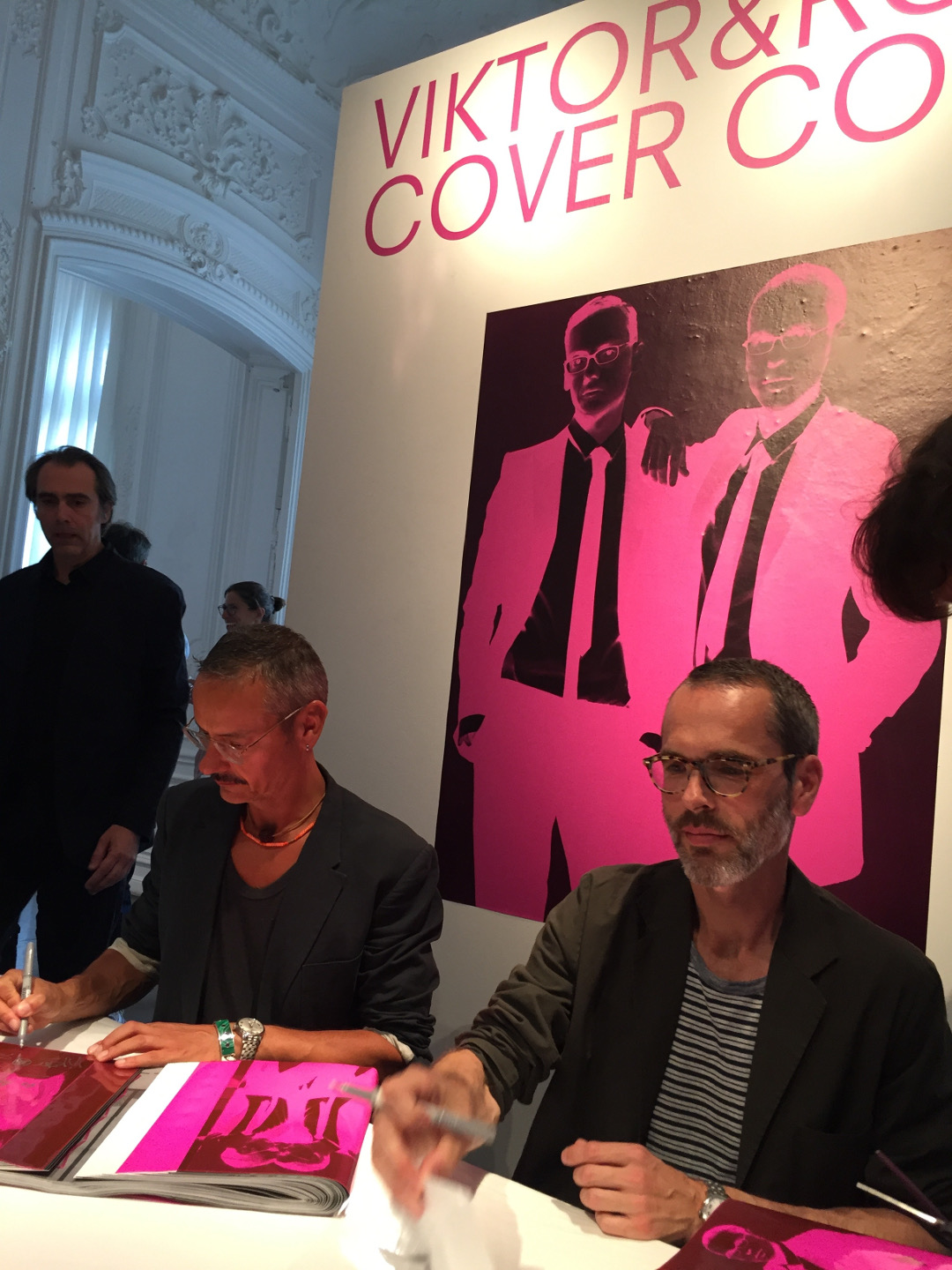 Viktor&Rolf launch their new book in Paris