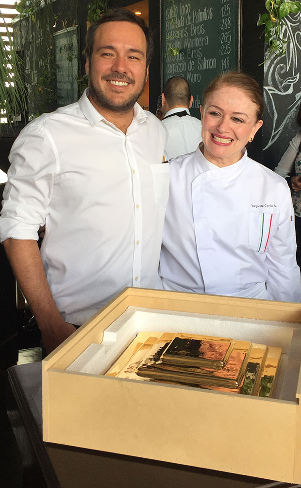 Jose Dávila and Mexico: The Cookbook chef and author Margarita Carrillo Arrante and the new edition from Artspace