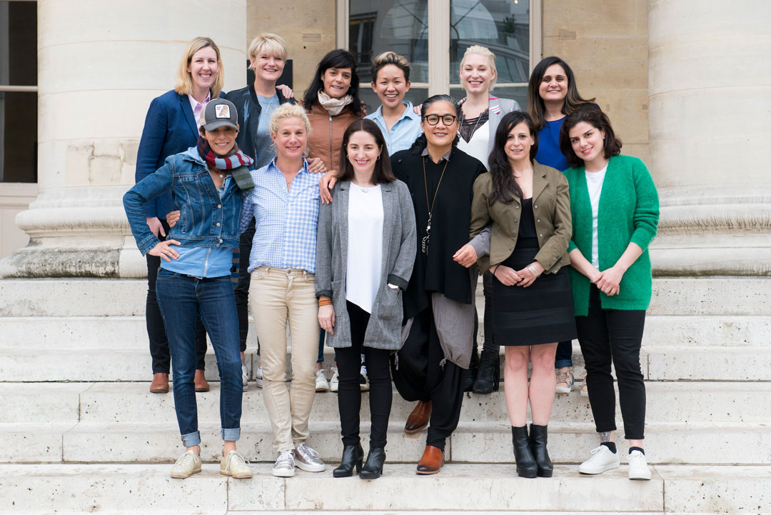 Clare Smyth, Emma Bengtsson, Kylie Wong, May Chow, Dominique Crenn, Ana Ros, Elena Arzak, Rosio Sanchez among the chefs at the Paris launch yesterday