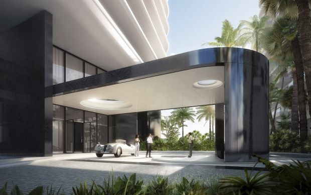 Faena House renderings, courtesy of Foster + Partners