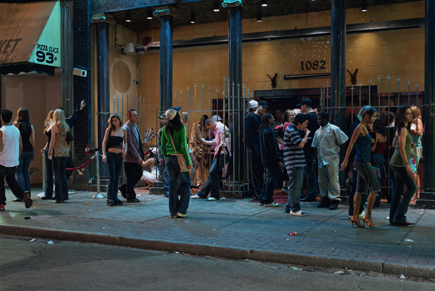 In Front of a Nightclub (2006) by Jeff Wall