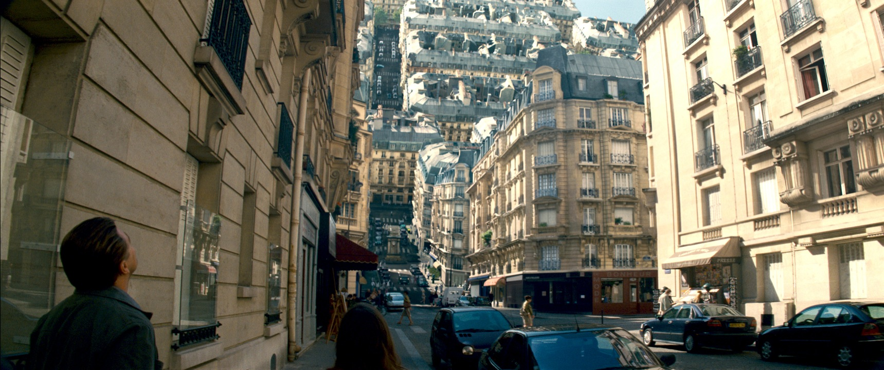 Special effects in Inception (2010). It's creators feature in Digital Revolution
