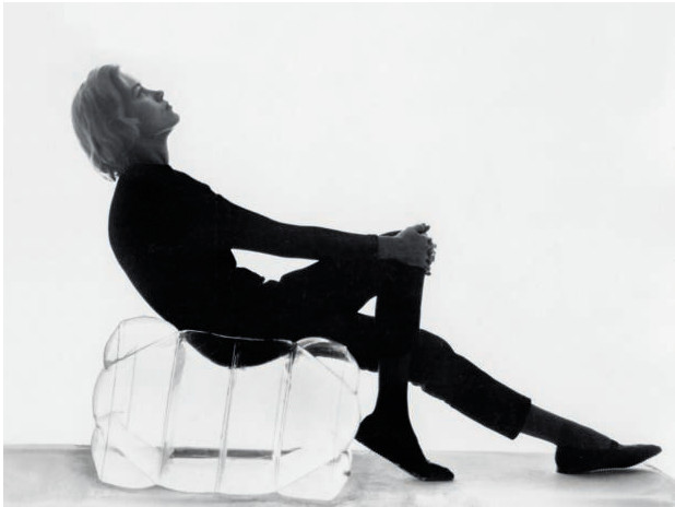 Verner Panton's Inflatable Stool, as featured in our new book