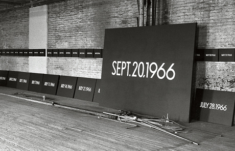 On Kawara's 13th Street Studio, New York (1966)