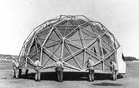Buckminster Fuller geodesic dome