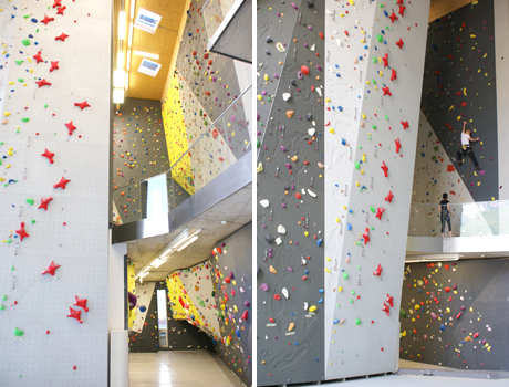 Park Associati, Salewa Headquarters climbing wall, Bolzano