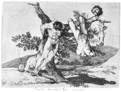 Goya, Disasters of War No.39 (1810-1820)