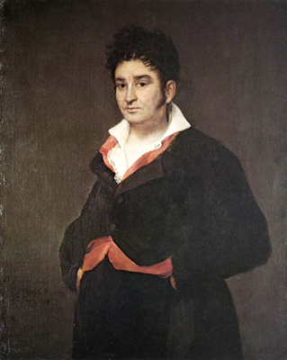 Goya, Portrait of Don Ramón Satué (1823)