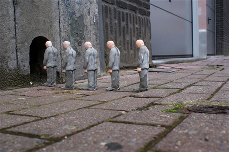 Isaac Cordal, Concrete Eclipses